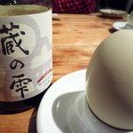 オヂィズダイニング 魚魚  - 神果卵と蔵の雫
