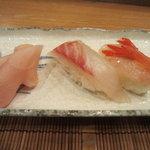 樹花 - 〆の寿司