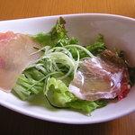 伊・食・旬 イガッタ - 生ハムのサラダ