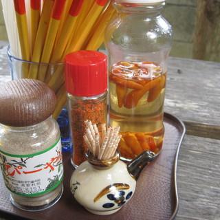 来夏世 - 料理写真:薬味