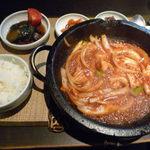 茶や - 韓国定食 ホルモンポックム