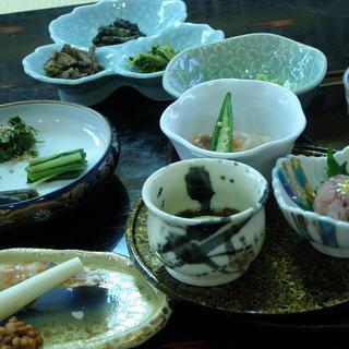 出羽屋 - 料理写真:山菜懐石