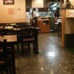 食堂もり川 - 店内