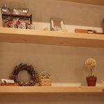 スローフード茶房 wasabi - 作家物の雑貨販売コーナー