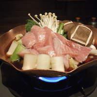 大江戸料理 一文名物 ねぎま鍋 (二人前)