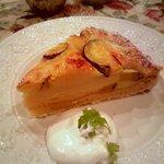 グロヴナーカフェ - サツマイモのタルト