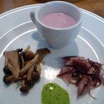 カンティーヌ・マシュー - 工夫のある前菜が美味しい^^