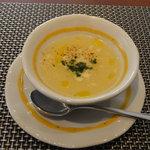 オリーヴェ - スープ(蕪ともろこし粉)