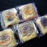 はやかわ菓子店 - クレープ