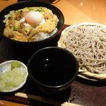 高田屋 - 親子丼とそばのセット