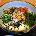 てんまさ - 納豆とネバネバ系のコラボ