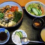 てんまさ - ねばり丼(1050円)