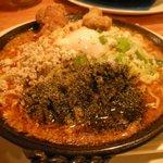 武蔵家別館 - 野郎満州トロトロ坦々油そば750円 麺大盛り無料