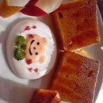 元町カフェ - 友達の分のケーキです。可愛らしいです☆