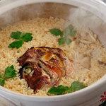 やすべえ - 料理写真:鯛めしはコースのお客様だけの限定のお料理です