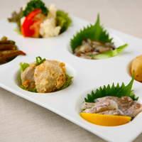 SUGAR HILL KYOTO - 旬のお惣菜の盛り合わせ