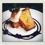 アナログ カフェ ラウンジ トーキョー - クルミとメープルのパウンドケーキ