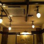 四川料理 荒木 - 落ち着く店内の雰囲気。すごく「あり」だと思った内装。