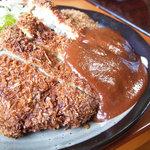 じゃらい亭 - 黒豚トンカツ定食(じゃらい亭)