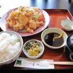 青山レストラン - 鳥天定食