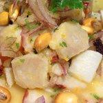 ペルー料理 ロミーナ - Cebiche ペルーを代表する魚介のピリ辛レモンマリネ ビタミンたっぷり!