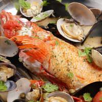 旨味の溢れるお魚料理。メインディッシュにいかがですか