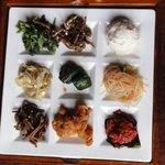 焼肉 ろくろ - 惣菜9種