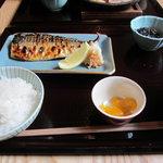 7105115 - 焼き魚の鯖のセット