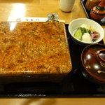 宇田川 - 料理写真:お重立派です