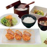 浜勝 - 国産ハーブ豚のひれかつ膳