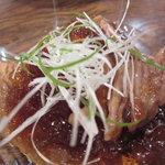 鳥八の魚や - カスベ煮凍り(\580-)