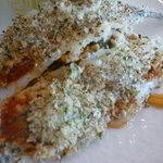 ラ・セール - サヨリの香草パン粉焼きアップ