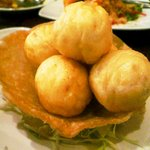 台南担仔麺 - 花枝丸(イカのすり身団子)