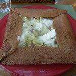 ジオノ - 塩とバターの800円ガレットに追加料金でアンチョビ×キャベツです★