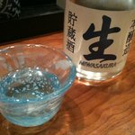 村上水軍 - 【2011/3再訪】先ずはビールで乾杯し、直ぐに冷酒を頂きました。