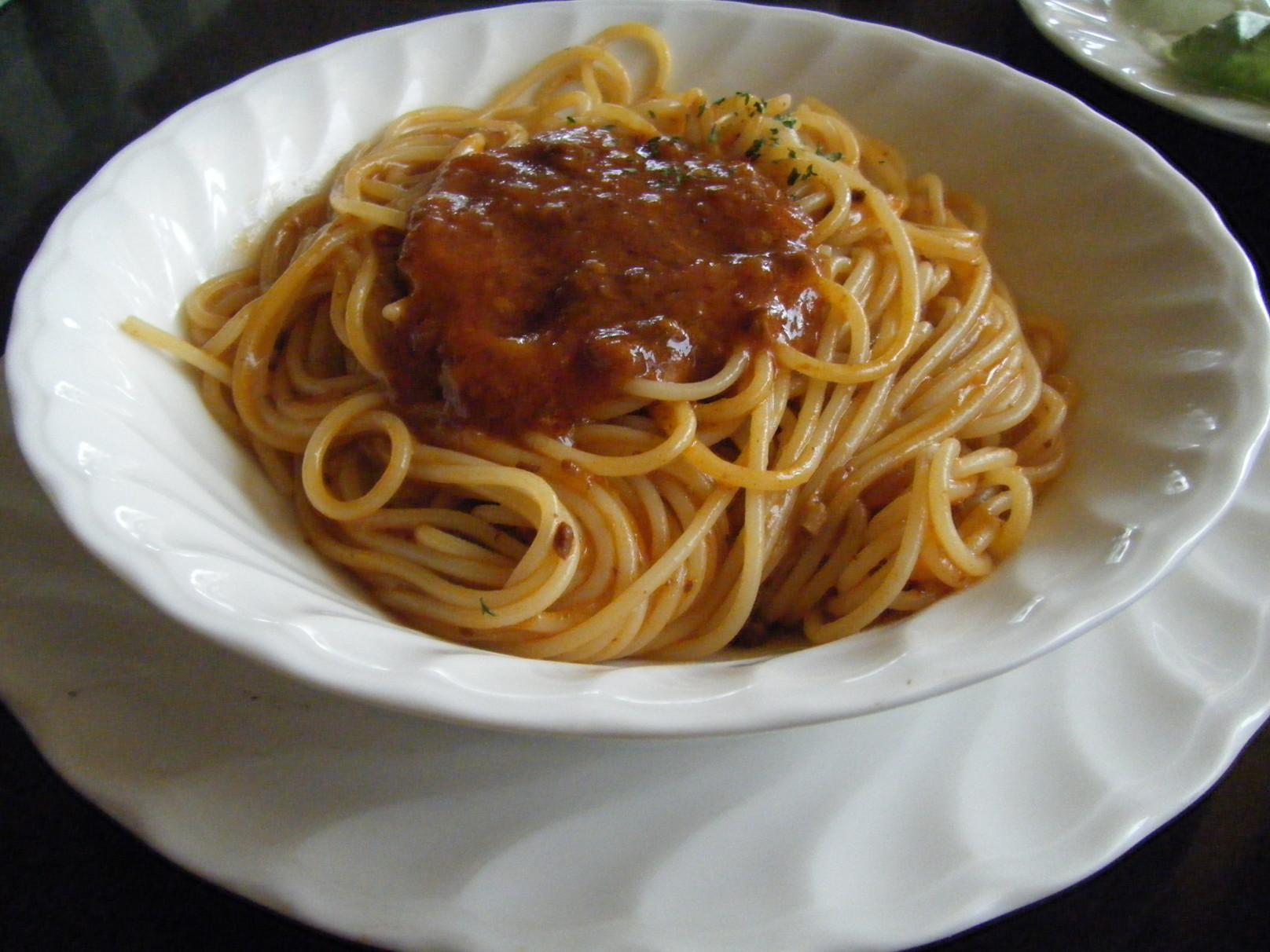スパゲッティ オリーブ