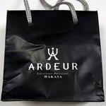 アルデュール 本店 - 外の袋には ARDEUR Cuisinicr-Patissicr HAKATA って、書いていますね。