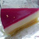 ちえのケーキ 鎌倉由比ガ浜ガーデンカフェ - ラズベリーチーズケーキ