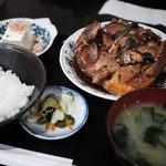 好文亭 - あら煮定食(2011年3月)