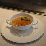ステーキハウス児玉 - スープ