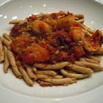 ニューヨーク・グリル - フィジリパスタ 蛸とイタリアンサラミのトマトソース