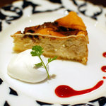 カフェ プルミエ - 料理写真:チョコバナナチーズケーキ