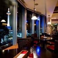 【おしゃれな雰囲気】京都を感じる夜景白く灯るタワー☆