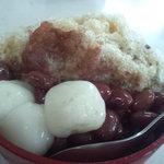 丸三(まるみつ)冷し物店 - 黒糖ぜんざい
