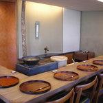 紫野和久傳 - 2階でお食事