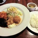 ビッグシェフ - バラエティランチ920円