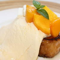 LONCAFE - 完熟マンゴーとクリームチーズのフレンチトースト