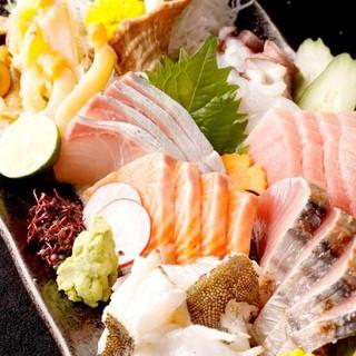産地直送の新鮮鮮魚!!