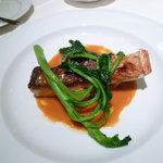 ラ・フィーユ - メイン:魚のポワレ