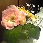 パザパ - 机の上の花